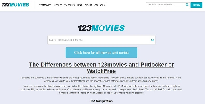 123Movies- Online Streaming Site