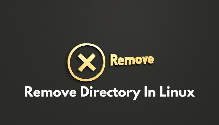 Remove Directory In Linux Operating System