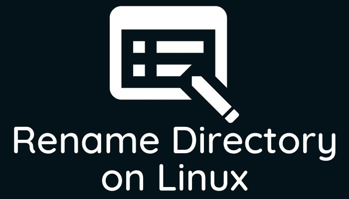 Rename Directory on Linux